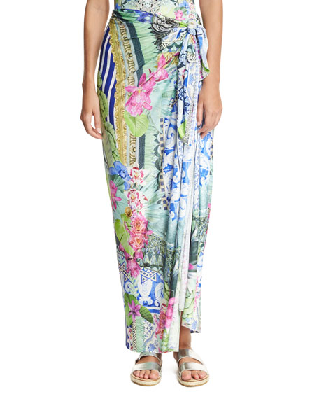 Camilla Sarong Swim Coverup, One Size