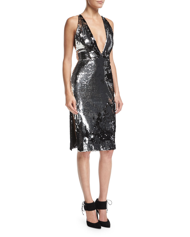 Gray Dress | Neiman Marcus