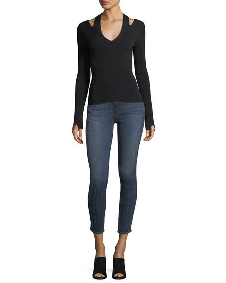Ava Distressed Skinny Jeans