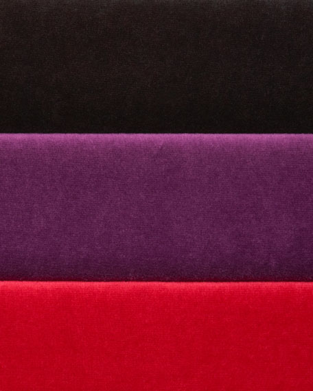 Velour Long-Sleeve Turtleneck Tunic, Plus Size