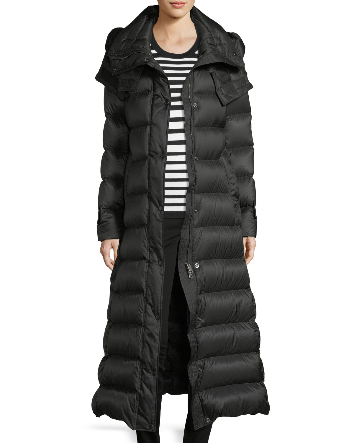 f1b1a1d4b Burberry Kanefield Long Quilted Puffer Jacket - Best Quilt Grafimage.co