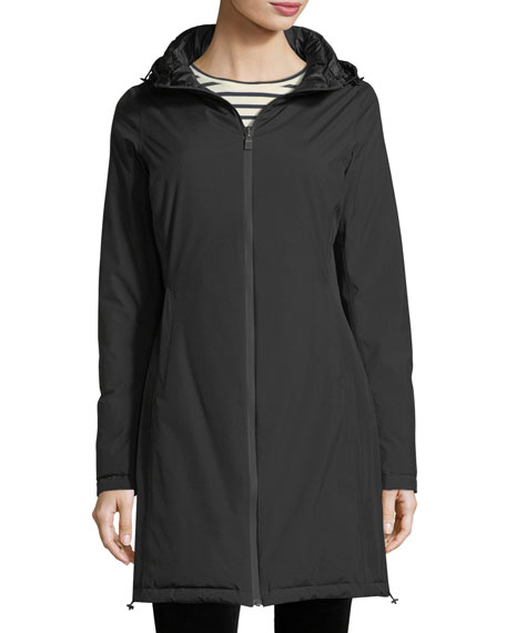 Hooded Reversible Gore-Tex® Parka Coat