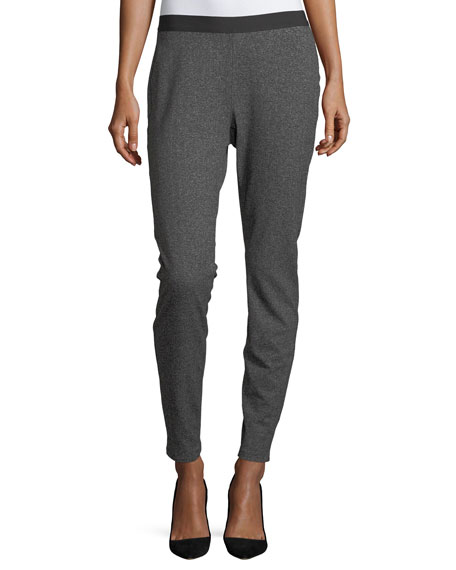 Eileen Fisher Slouchy Herringbone Leggings