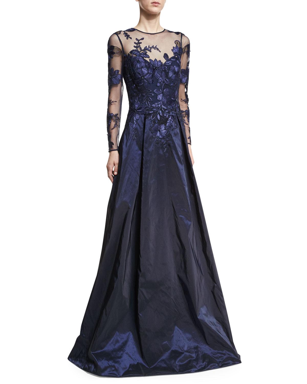 Navy Gown | Neiman Marcus