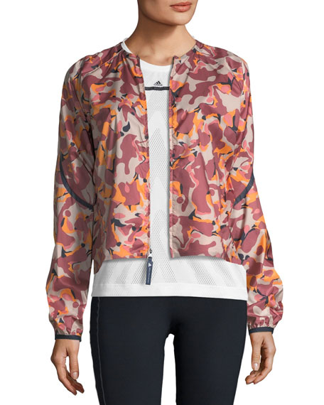 ADIZERO PRINTED LIGHTWEIGHT RUNNING JACKET