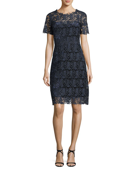 Ophelia Lace Sheath Dress