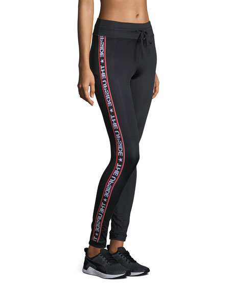 Star Fast Drawstring Yoga Pants