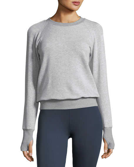 Heroine Sport Boost Crewneck Raglan Sweatshirt