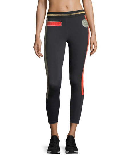 PE Nation On Deck 7/8 Performance Leggings