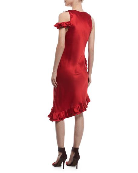 My Special Something Asymmetric Silk Dress