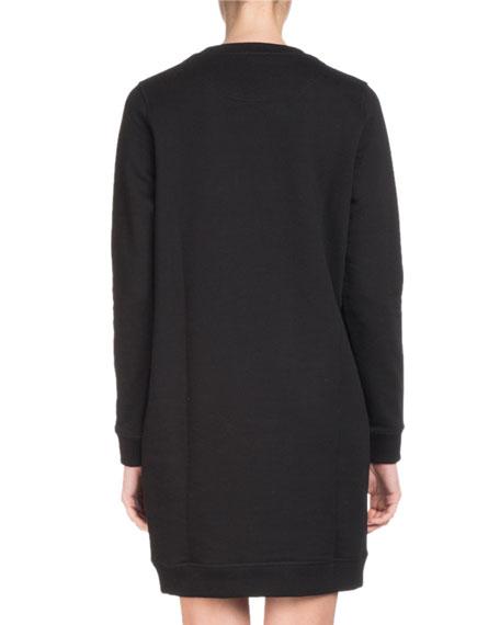 Crewneck Signature Classic Sweatshirt Dress