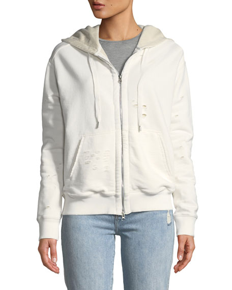 Double-Layer French Terry Hoodie