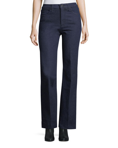 Justine High-Rise Wide-Leg Trouser Jeans