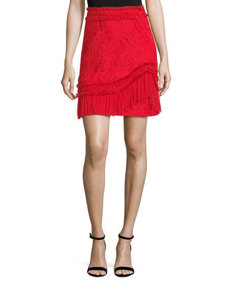 Alexis Vinna A-Line Lace Skirt