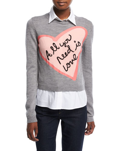 Nikia All You Need Love Pullover