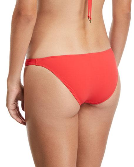 Solid Hipster Swim Bikini Bottoms