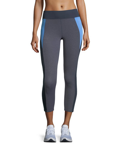 Olympic Colorblocked Capri Leggings