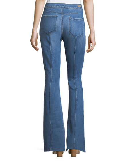 Roxy High-Rise Flared-Leg Jeans