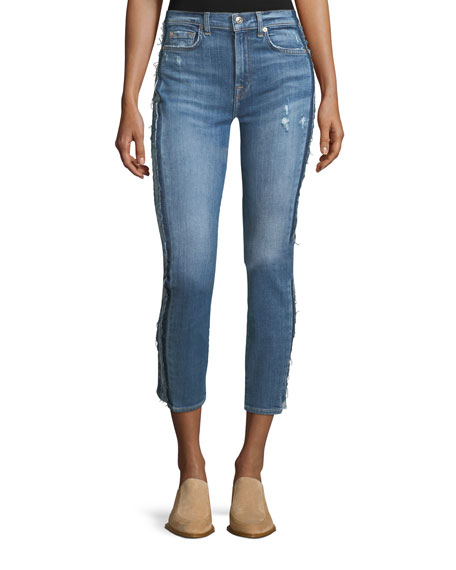 7 For All Mankind Roxanne Ankle Skinny-Leg Jeans
