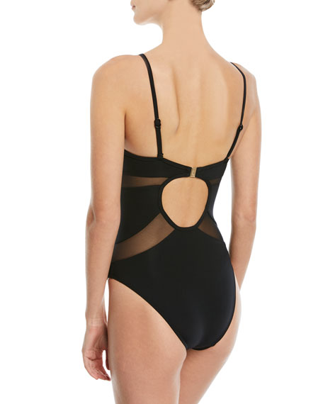 Aspire Plunge One-Piece Swimsuit