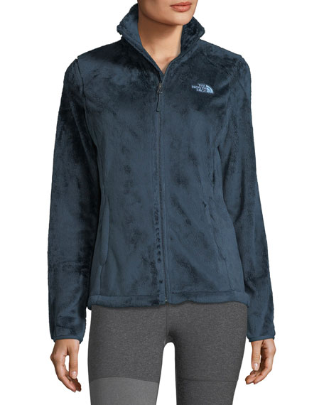 Osito Zip-Front Fleece Performance Jacket, Dark Blue