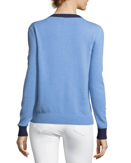 Maglione Cashmere Ribbed Sweater