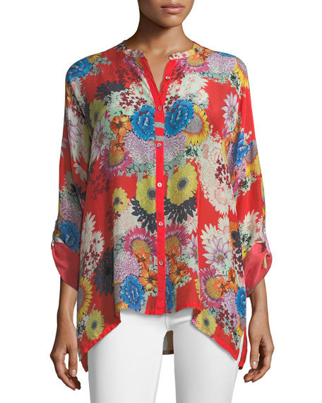 Mishka Printed Relaxed Tunic