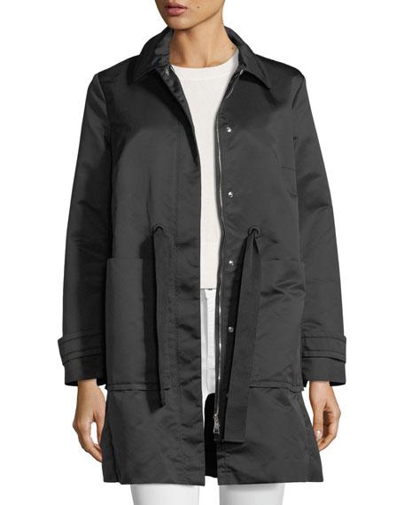 Epidote Self-Tie Long Utility Jacket