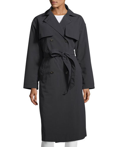 Roche Double-Breasted Trench Coat