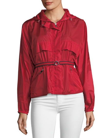 Jais Belted Utility Jacket by Neiman Marcus