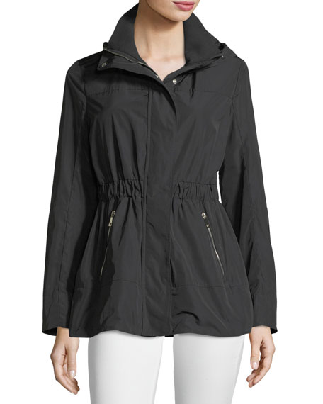 Disthene Utility Semi-Fitted Jacket in Black