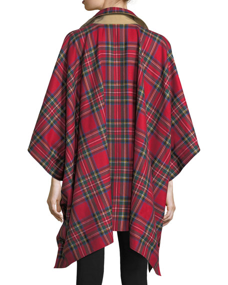 Greymere Reversible Cape Coat