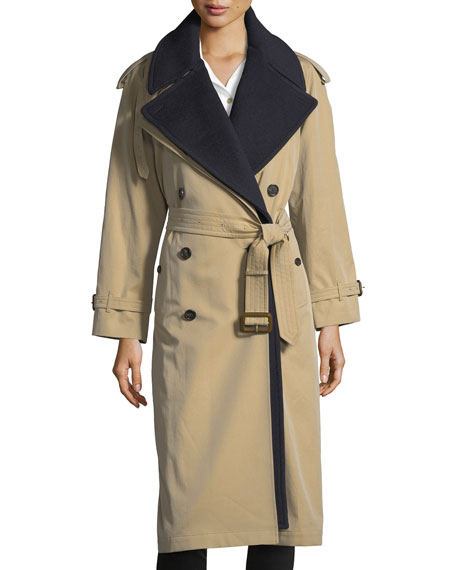 Burberry Eastheath Double-Breasted Trench Coat