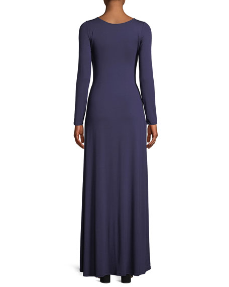 Breeze Reversible Long-Sleeve Maxi Dress