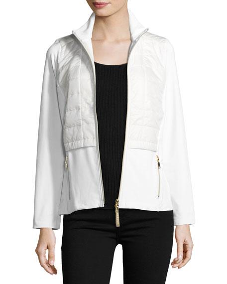 8167 Morina Zip-Front Utility Jacket