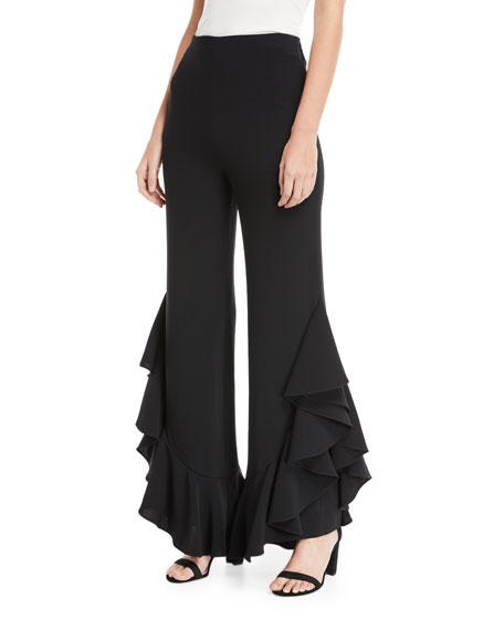 Helena Flared-Leg Pants