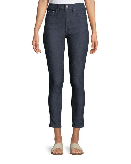 Rag & Bone High-Rise Skinny Ankle Jeans