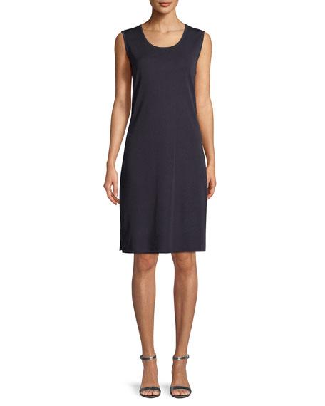 Misook Petite Pullover Sleeveless Tank Dress