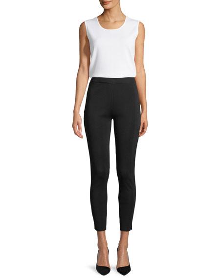 Misook Plus Size Classic Slim-Fit Leggings