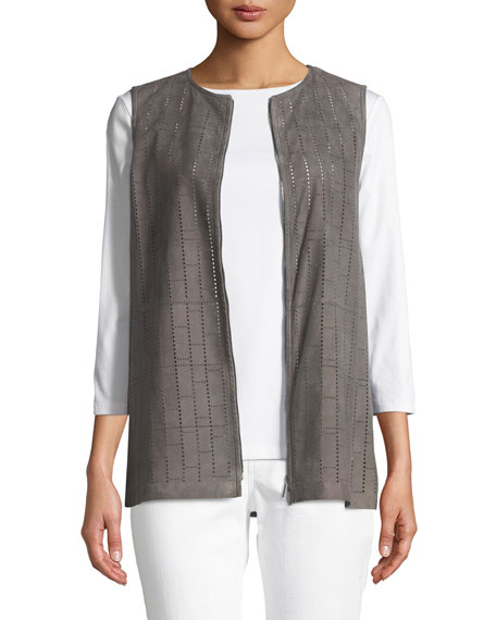 Lafayette 148 New York Genesis Luxuriant Perforated Lamb