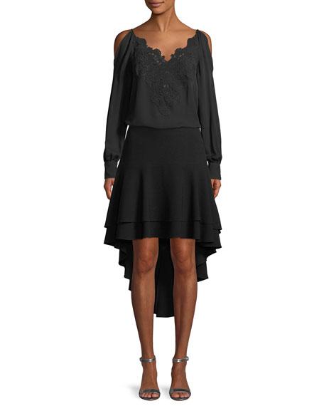 Aubree High-Low Skirt