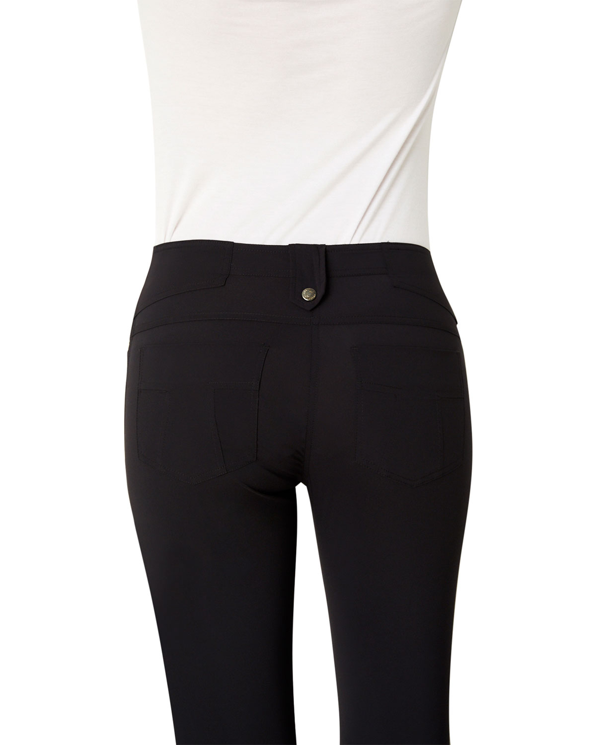 Anatomie Skyler Five-Pocket High-Rise Pants | Neiman Marcus