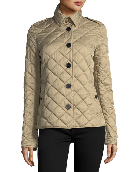 Frankby Quilted Jacket, Canvas
