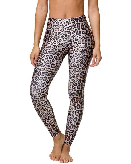 Onzie High-Rise Leggings, Leopard