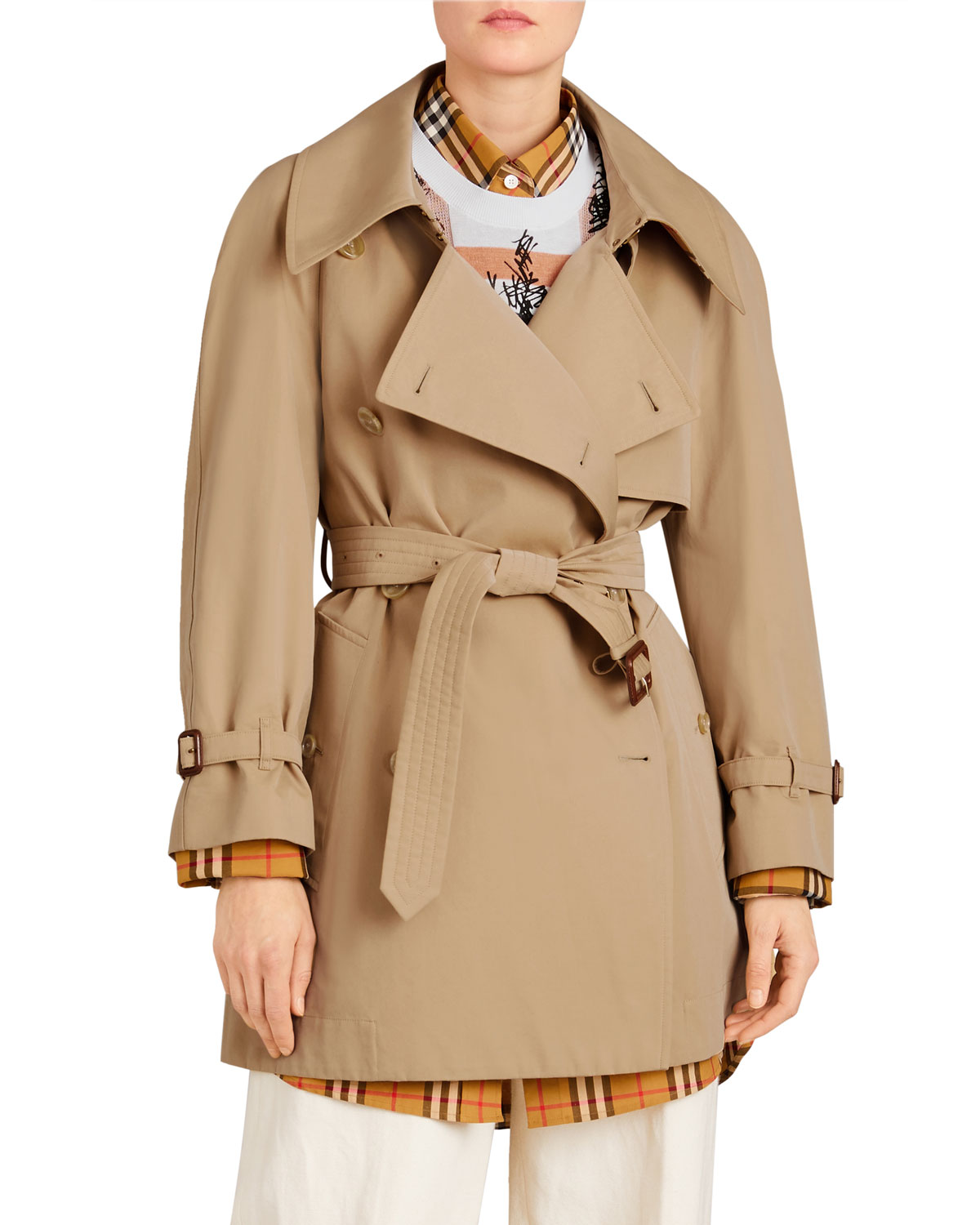 40f7a38951d7 Burberry Fortingall Gabardine Trench Coat