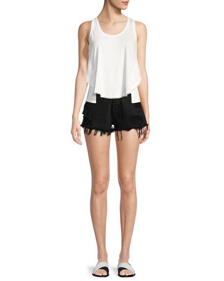 W4 Carter Distressed Denim Shorts