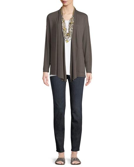 Lightweight Viscose Jersey Kimono Cardigan