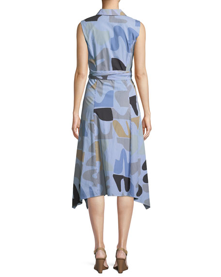 Urban Ethos Stripe Shirting Cordelia Dress