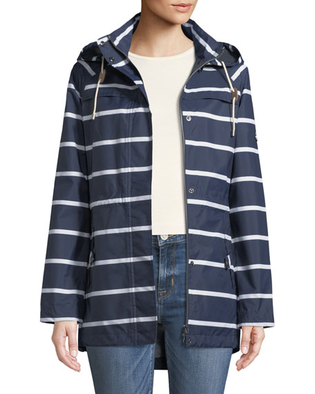 Hollwell Striped Jacket w/ Hood