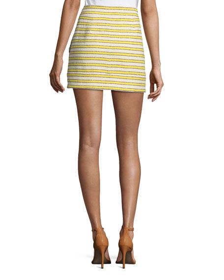 Lynden Mini Skirt w/ Zip Front